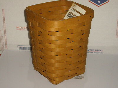 longaberger 2015 spoon basket new with tags