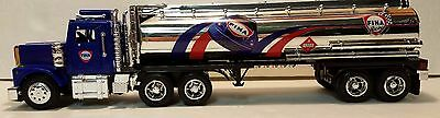 Fina 1997 Toy Tanker Truck With Working Light's Equity Marketing