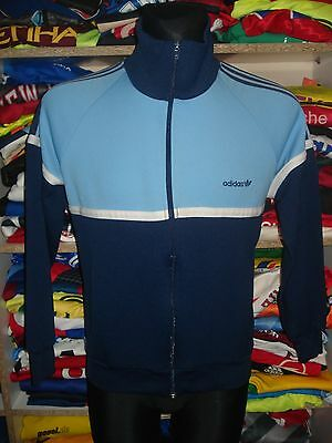 ADIDAS VINTAGE JACKET SIZE S SHIRT TRACKSUIT TOP 1980s MADE IN KOREA (f67d)