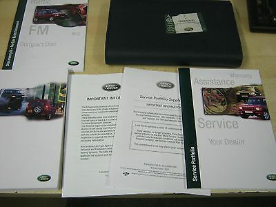 Landrover Discovery 2 Owners Manual Handbook ,new  Service Book 1998-2003