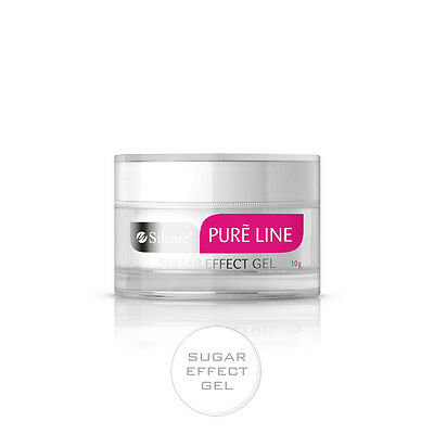 Pure Line Sugar Effect 10g UV Gel Nails Sugar Coating 3D Effect Silcare