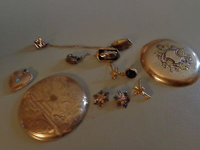 10K Solid Gold Use And Scrap All Acid Tested 15.2 Grams