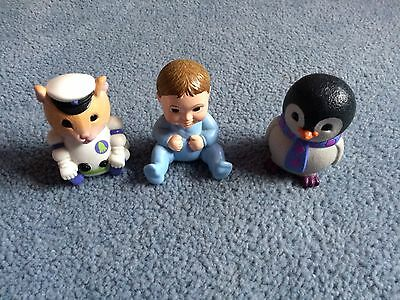 Baby Jake Figures; Captain Spacey, Pengy Quin