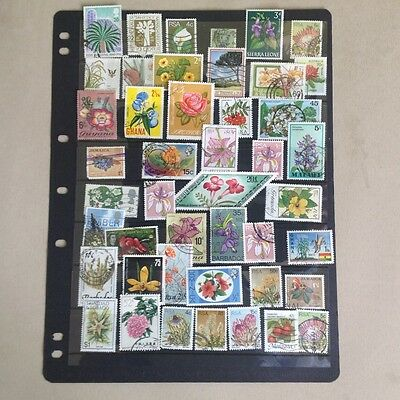 Flowers and plants on Stamps