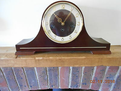 Hermle Mechanical Chiming Mantle Mantel Table Clock 340-020 Timepiece