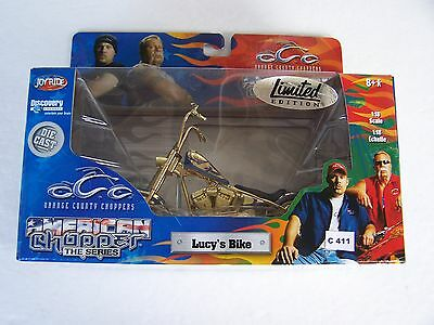 OCC 1/18   - LUCY'S BIKE - LIMITED EDITION -gold color -model motorcycle   uc411