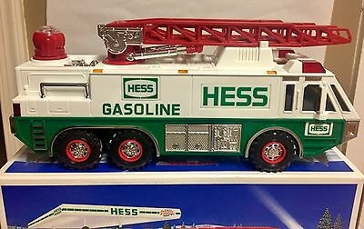 Vintage  HESS 1996 EMERGENCY TOY TRUCK  COLLECTIBLE MIB new
