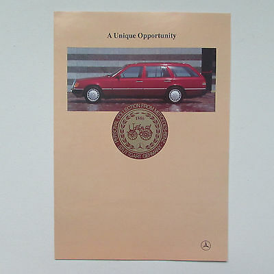 Personal Collection of new Mercedes Benz from Germany Brochure