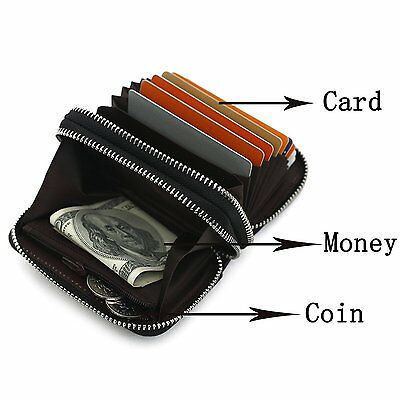 Credit Card Wallet,YOUNA Rfid Blocking Genuine Leather Credit Card Wallet for ID