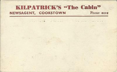 Cookstown Kilpatrick's The Cabin Newsagent