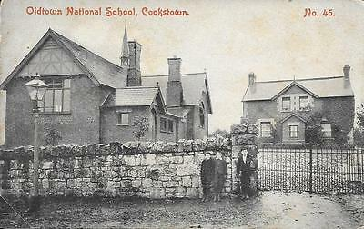 Cookstown Oldtown National School published by Glasgow's Mid Ulster Series No 45