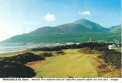 Newcastle Golf Course and Mournes