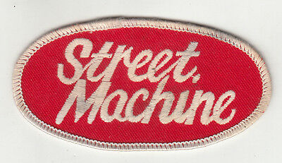 Street Machine Embroidered Patch