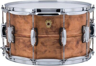 Ludwig Natural Copper Snare 8 X 14
