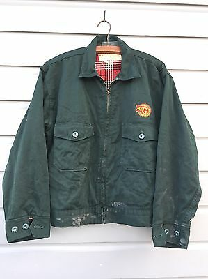 Vintage Automotive Collectible Old B.F. Goodrich Advertising Work Jacket Size 42