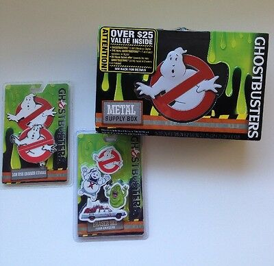 GHOSTBUSTERS Pencil Box & 1GB USB ERASER COMBO Keychain & Eraser Set