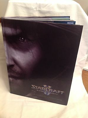 Star Craft II Wings of Liberty LIMITED EDITION STRATEGY GUIDE