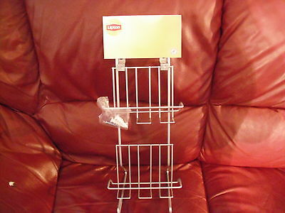 lipton tea display stand with mounting hardware