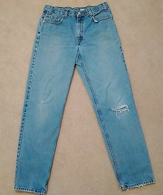 Levis vintage US Made 550 Jeans 36 x 34 Long Distressed