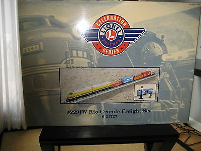 Lionel 31727  5 Car Rio Grande Freight Cars Split From Set.