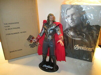"HOT TOYS AVENGERS THOR 1:6 scale 12"" Figure Open, Complete"