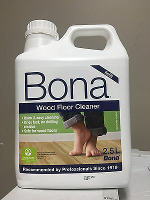 Bona Wood Floor Cleaner 2.5LT