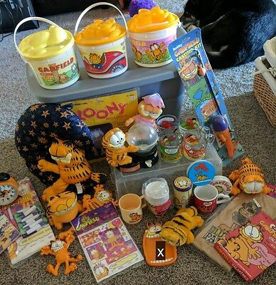 Garfield lot, all or pick one