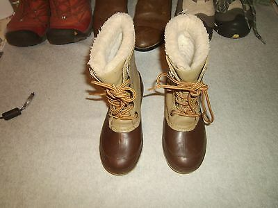 Kids Youth Boys Girls Canada Snowmaster Winter Duck Boots Size 13 M Unsulated