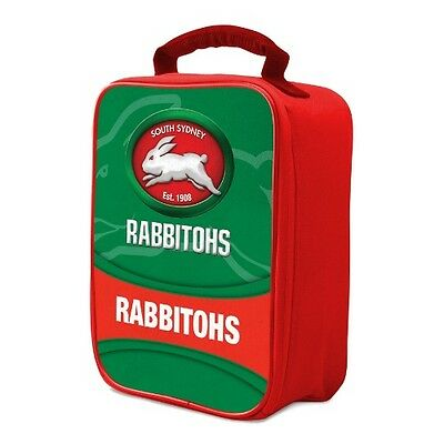 Official NRL Cooler Bag (Rabbitohs) Approx: 25 (L) x 17 (H) x 5 (D)cm Rabbitohs