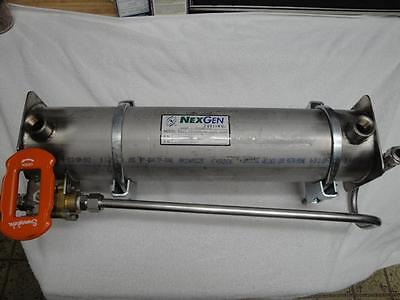 CNG System Heat Exchanger - High Pressure 350 PSI Capable - 304 Stainless Steel
