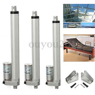DC 12V 330lbs Linear Actuator 150KG Max Lift Electric Motor for Medical Auto Car