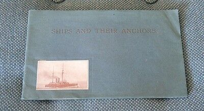 SHIPS AND THEIR ANCHORS W L BYERS ANCHOR MANUFACTURERS SUNDERLAND c1905 #11