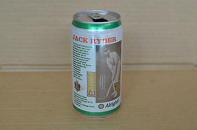 Carlton Light Jack Ryder 100 Years Of Cricket Collectors 375Ml Beer Can