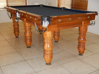 Slate Billiard table and accessories