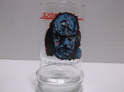 Star Trek The Search For Spock Drinking Glass Lord-Kruge