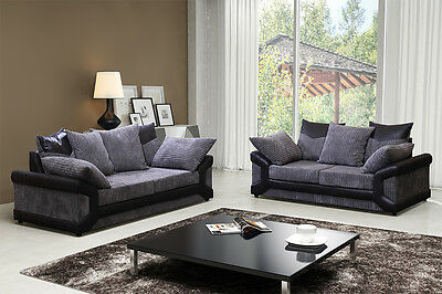 Dino 3 and 2 seater Sofa in two colours