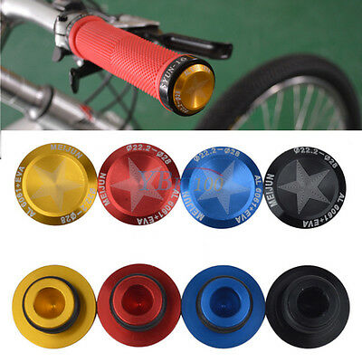 15-20 mm Dia MTB Bike Bicycle Handlebar Grip Bar End Plugs Stoppers Caps Covers