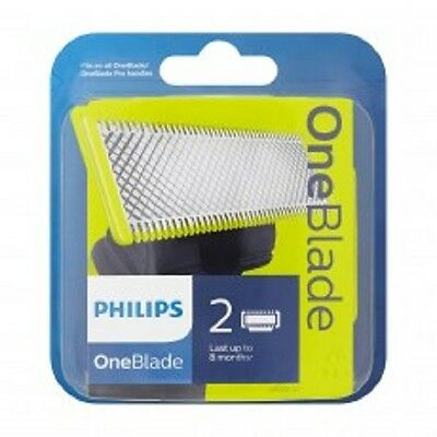 Philips OneBlade QP220/50 Replaceable Blade Head - BEST PRICE - 2 Blades