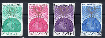 MALAWI 1964 SG to 228 to 231 m/m