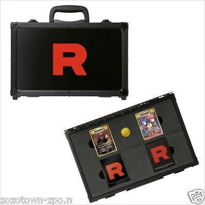 20th Anniversary Pokemon Card Game Rocket Team Special Case Limited Card JPN