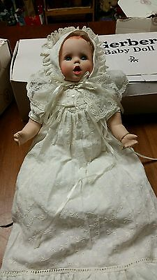 Danbury Mint Gerber Baby Doll In Christining Outfit