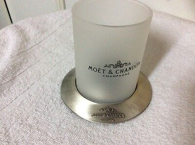 porte bougie photophore  champagne MOET & CHANDON  lot de 2
