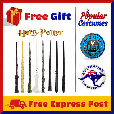 Harry Potter Magical Wand Replica Wizard Costume Hogwarts Hermione with Gift Box