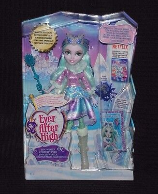 Ever After High Epic Winter Crystal Winter Doll Daughter of the Snow Queen BNIB