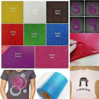 Iron On Transfer Paper Lot Korea Korean Glitter Heat Vinyl Sheets 10x10 8 Colors