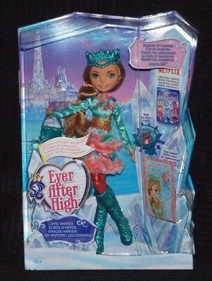 Ever After High Epic Winter Ashlynn Ella Doll Daughter of Cinderella BNIB