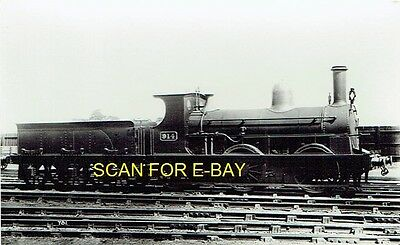 Railway Photo PC GWR (ex-Llanelly Rly & Dock Co) 060 No 914 at Unknown Location