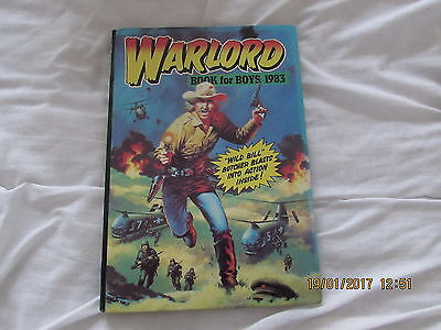 WARLORD BOOK  for  BOYS    1983  VERY  GOOD  FOR  AGE