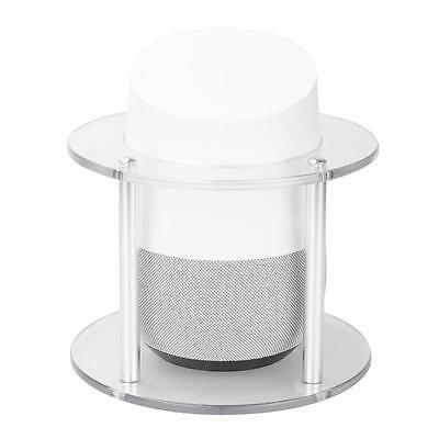 Nonslip Aluminum Guard Station Stable Stand Holder For Google Home Speaker+Screw