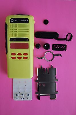 Yellow Motorola HT1250 Limited Keypad 16 Channel Refurb Housing Kit